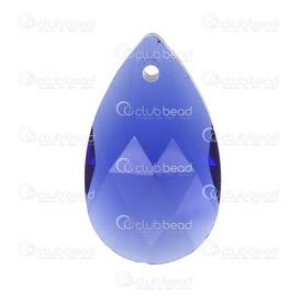 1102-5890-23 - Pendentif de Cristal Stellaris Gouttelette 14x22x7mm Cobalt 2pcs 1102-5890-23,Billes,Style européen,Perlé,Pendentif,Stellaris,Verre,Cristal,14x22x7mm,Goutte,Goutellette,Cobalt,Chine,2pcs,montreal, quebec, canada, beads, wholesale