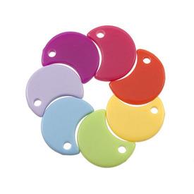 *DB-1106-9153 - Pendentif de Plastique Lune 14X18MM Mixte 1 Boîte  (App. 70pcs) *DB-1106-9153,Pendentifs,Plastique,Pendentif,Plastique,Plastique,14X18MM,Lune,Mix,Chine,Dollar Bead,1 Boîte,(App. 70pcs),montreal, quebec, canada, beads, wholesale
