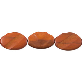 1110-6024-01 - Wood Bead Sebucao Crazy Cut 23X33MM 16&#39;&#39; String Philippines 1110-6024-01,Beads,Wood,Exotic,Bead,Sebucao,Natural,Wood,23X33MM,Crazy Cut,Philippines,16&#39;&#39; String,montreal, quebec, canada, beads, wholesale