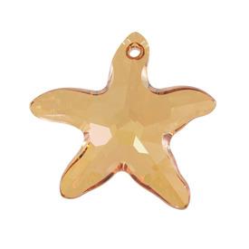 *6721-28MM-001SB-CC - Swarovski Pendentif Étoile de Mer 6721 28MM Cristal Rougeur d'Été 001 SB 1pc Autriche *6721-28MM-001SB-CC,2302-0126-001SB,Swarovski,Pendentif,Verre,Imitation Glass Stone,28MM,Étoile,Étoile de Mer,6721,Orange,Cristal,Rougeur d'Été,001,SB,montreal, quebec, canada, beads, wholesale