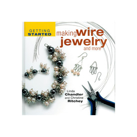 2701-0071 - Get Started With Wire Jewelry Linda Chandler and Christine Ritchey 2701-0071,Books and Magazines,English,Get Started With Wire Jewelry,Linda Chandler and Christine Ritchey,montreal, quebec, canada, beads, wholesale